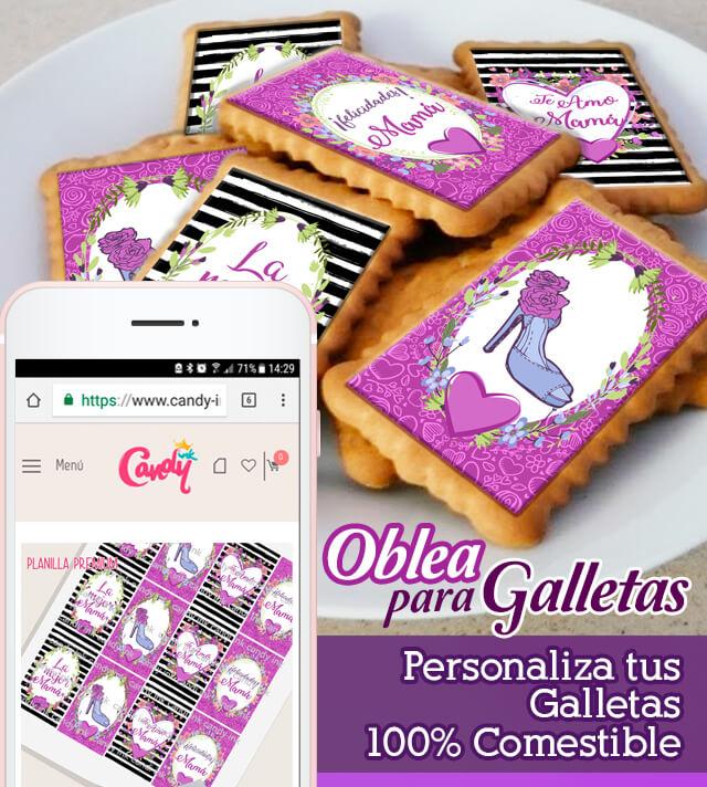 Decora Postres Con Obleas Para Pastel Y Transfer Candy Ink