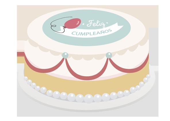 Decoración de pasteles, gelatinas, cupcakes y paletas